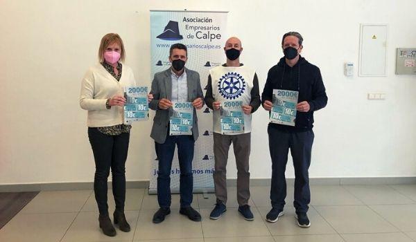 Rotary Club Calpe y AEMCO unidos por la solidaridad